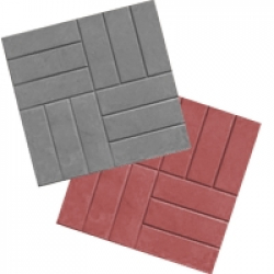 Тротуарная плитка 12 кирпичей